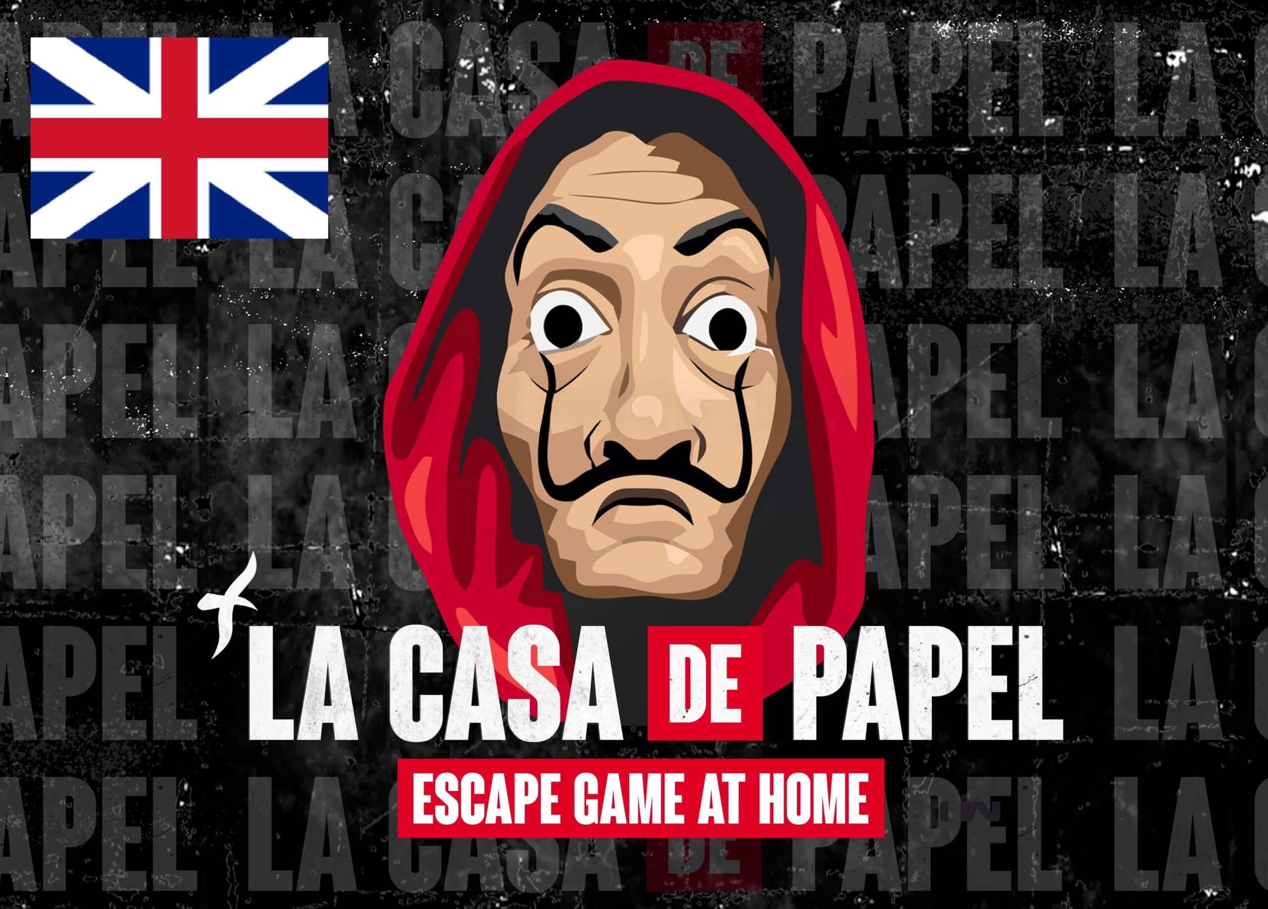 (EN) Escape Game La Casa De Papel